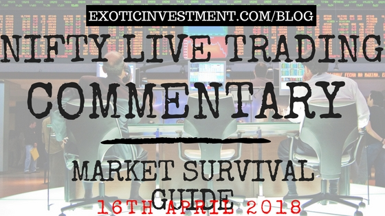 Nse Live Market 14th April 2018:  Nifty Live Index Commentary Starting Before the Pre Open Market Opening