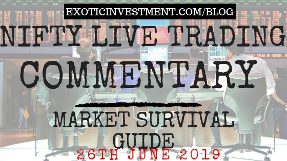 Nse Live Market 26th June 2018:  Nifty Live Index Commentary Starting Before the Pre Open Market Opening