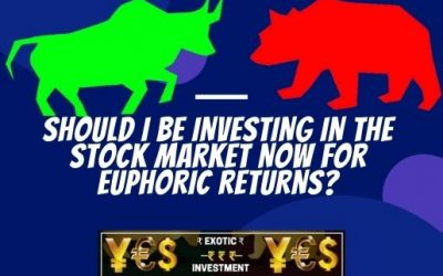 Should I Be Investing In The Stock Market Now For Euphoric Returns?